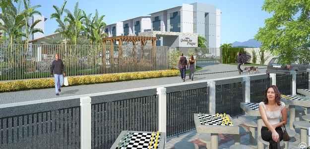 Projeto da Carrilho tem im�veis com pre�o m�dio de R$ 73 mil (Construtora Carrilho/Divulga��o)