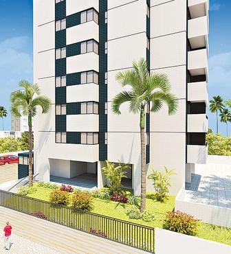 Edifício Luiz Queiroz, em Setúbal atrai famílias em busca de espaço - Edifício Luiz Queiroz, em Setúbal atrai famílias em busca de espaço (HUMAYTA CONTRUCOES E INCORPORACOES/DIVULGACAO)