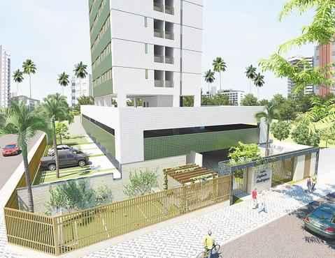 Empreendimento terá 24 pavimentos com unidades de 30 m2 e 50 m2, com um e dois quartos - Empreendimento terá 24 pavimentos com unidades de 30 m2 e 50 m2, com um e dois quartos (HUMAYTA CONTRUÇÕES E INCORPORAÇÕES/DIVULGAÇÃO)