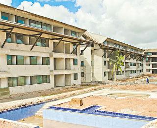 Equipe da Pernambuco Construtora estuda a viabilidade da área antes de pensar no produto.  - PERNAMBUCO CONSTRUTORA/DIVUKGAÇÃO