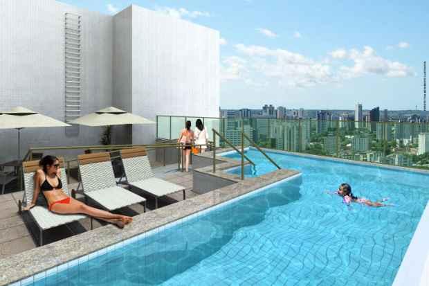 Os moradores poderão desfrutar também de áreas de lazer com piscina, salão de festa, campinho de futebol e bicicletário - Dallas/Divulgação