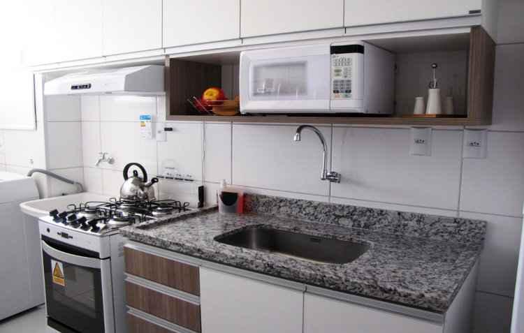 Clientes podem visitar o apartamento decorado do edifício - Celi/Divulgação
