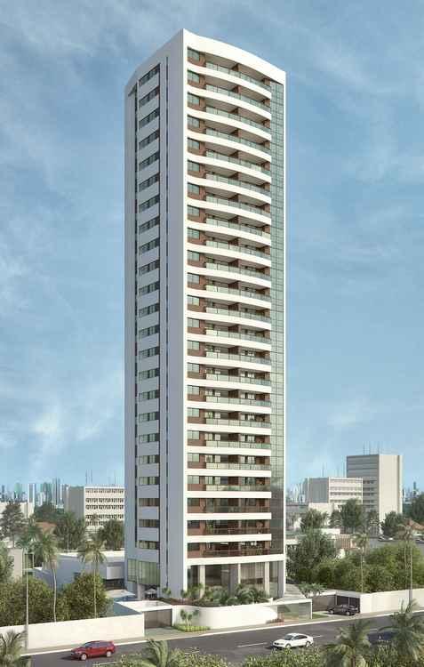 Edifício será próximo da orla de Casa Caiada - Moura Dubeux/Divulgação