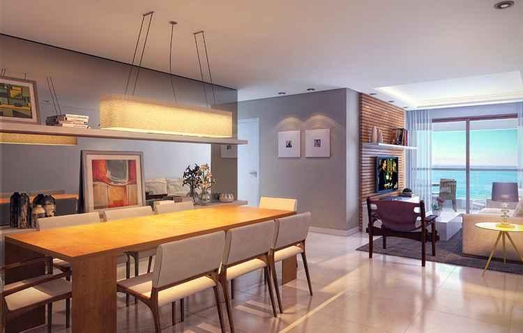 Imóvel conta com plantas de 99 m² e 128 m² - Moura Dubeux/Divulgação