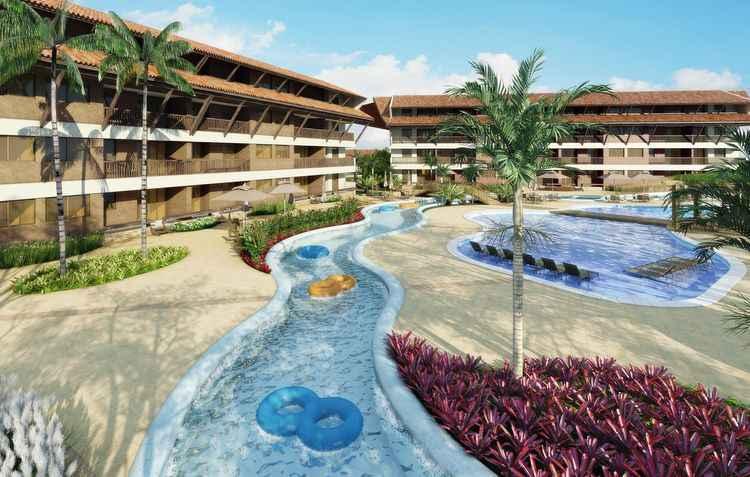 Projeto é integrado por apartamentos de 60m² (02 quartos, sendo 01 suíte), bangalôs de 150m² (03 suítes) e 165m² (04 quartos, sendo 03 suítes) - QGDI / Divulgação