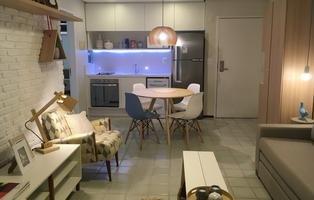 Apartamentos decorados auxiliam nas vendas - Foto: Amanda Oliveira / Esp DP