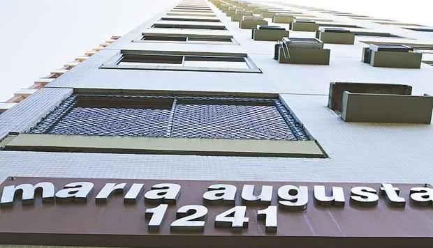 Edifício Maria Augusta, no bairro dos Aflitos, deu sequência a série da Queiroz Galvão - Bruna Monteiro/DP/D.S PRESS