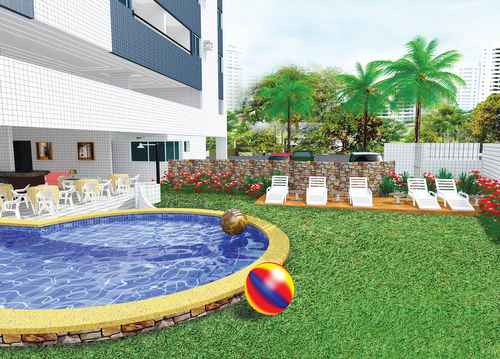 Nápoles tem 48 unidades distribuídas em 12 pavimentos - Imobiliário Dalmo Menezes