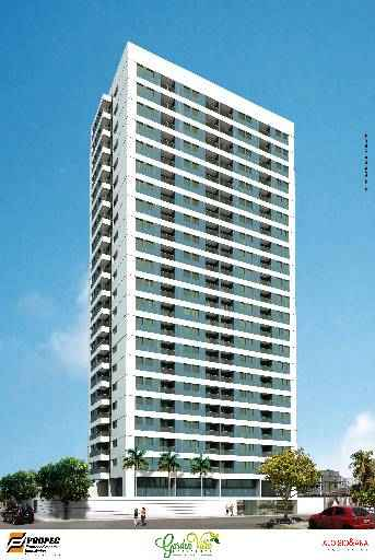 No total, são 126 unidades com três apartamentos por andar -