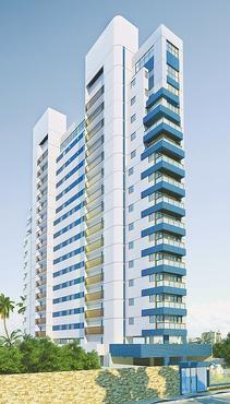 O edifício oferece opções com varanda e espaço para um ou dois quartos  - O edifício oferece opções com varanda e espaço para um ou dois quartos ( Romarco/ Divulgação)