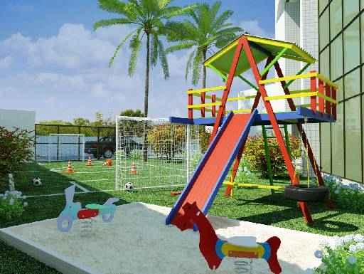 Playground e Minicampo - Flamac / Divulgação