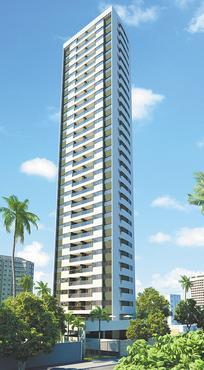 Promenade terá apartamentos com área de 105m2 e preços a partir de R$ 692 mil  - Promenade terá apartamentos com área de 105m2 e preços a partir de R$ 692 mil (PERNAMBUCO CONSTRUTORA/DIVULGAÇÃO)