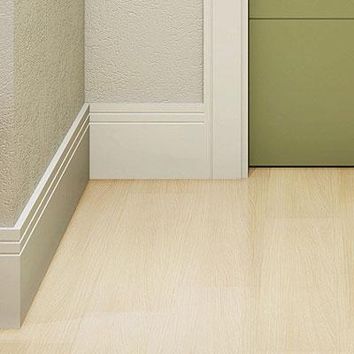Ao seguir a mesma cor da parede, material confere uniformidade ao ambiente  - Ao seguir a mesma cor da parede, material confere uniformidade ao ambiente (Eucatex/Divulgação)