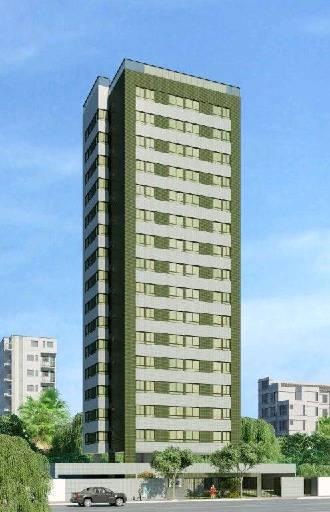 Edifício tem apartamentos de 51 metros quadrados. Obras devem ser concluídas até o fim de 2015 - Edifício tem apartamentos de 51 metros quadrados. Obras devem ser concluídas até o fim de 2015 (PEDRA FORTE ENGENHARIA/DIVULGAÇÃO)