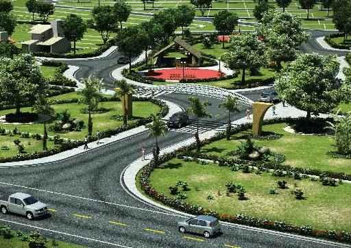 Bairro Nobre Jardim terá lotes com área a partir de 160 metros - Bairro Nobre Jardim terá lotes com área a partir de 160 metros (IMOBI DESENVOLVIMENTO URBANO/DIVULGAÇÃO)