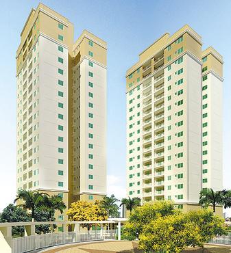 Empreendimento terá 13 torres com quatro pavimentos - Empreendimento terá 13 torres com quatro pavimentos (ROSSI/DIVULGAÇÃO)