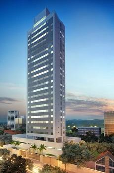 Edifício da Dallas terá 120 apartamentos em 20 andares - Edifício da Dallas terá 120 apartamentos em 20 andares (CONSTRUTORA DALLAS/DIVULGACAO)