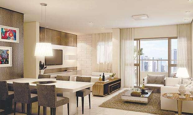 Apartamentos, que contarão com selo My Way, terão 94m2 e sala para dois ambientes - Apartamentos, que contarão com selo My Way, terão 94m2 e sala para dois ambientes (MOURA DUBEUX/DIVULGAÇÃO)
