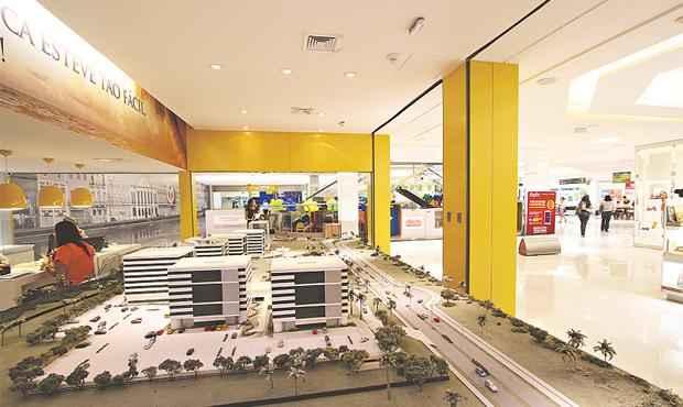 Showroom e lojas reúnem o portfólio dos imóveis em um único lugar e com menos burocracia - Showroom e lojas reúnem o portfólio dos imóveis em um único lugar e com menos burocracia (PAULO PAIVA/DP/D.A PRESS)