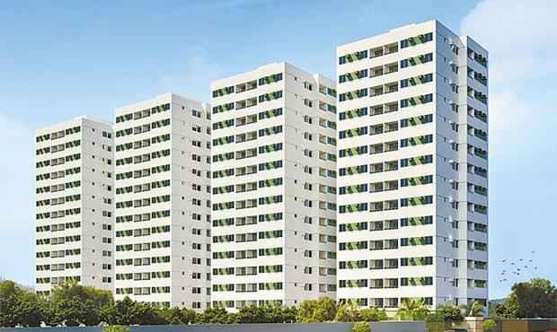 Prédio da Azevedo Castro Engenharia terá quatro torres de 14 pavimentos, com duas já lançadas - Prédio da Azevedo Castro Engenharia terá quatro torres de 14 pavimentos, com duas já lançadas (CONSTRUTORA AZEVEDO CASTRO ENGENHARIA/DIVULGAÇÃO)
