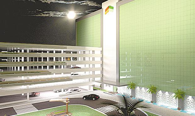 Complexo North Shopping abrigará lojas, leitos e salas comerciais - Complexo North Shopping abrigará lojas, leitos e salas comerciais (NORTH EMPREENDIMENTOS/DIVULGAÇÃO)