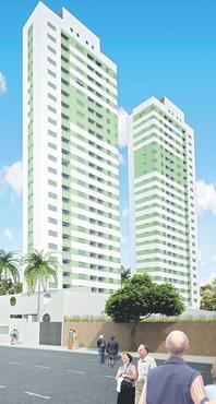 O imóvel, na Rua Conde do Irajá, é dividido em dois blocos, cada um com 66 unidades - O imóvel, na Rua Conde do Irajá, é dividido em dois blocos, cada um com 66 unidades (ADRIANO GOIS/DIVULGAÇÃO)