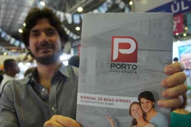 O Manuel de Boas Vindas foi redigido pelo próprio diretor da Porto Egenharia, Thiago Melo  - Porto Engenharia/Diulgação