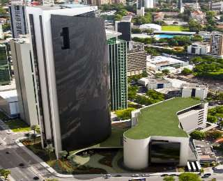 Rio Ave já coloca em seus projetos o Telhado Verde - Rio Ave/Divulgação