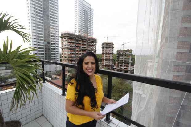 Camila contratou o serviço para agilizar o processo da compra do imóvel - Ricardo Fernandes/DP/D.A Press