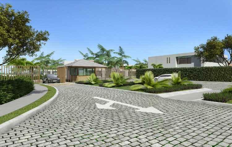 Imperial D'aldeia fica no km 7 e possuirá guarita de segurança e ruas calçadas - Grupo MTM/Divulgação
