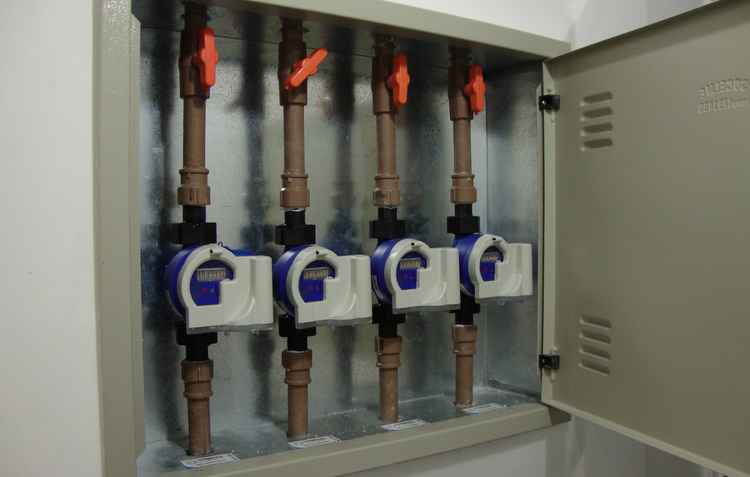 Custo para individualizar o consumo de água pode variar de R$ 300 até R$ 7 mil - Techmetria/Divulgação