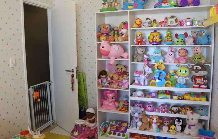 Pequenos ganham espaços fora do quarto para brincar - Anderson Freire/Esp DP