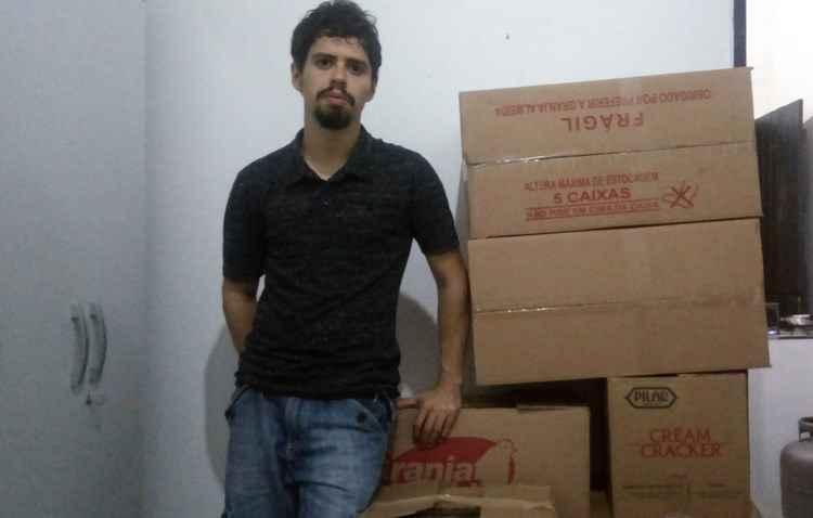 Jadiewerton se prepara com antecedência e vai contar com a ajuda dos amigos - Mariane Tavares/Divulgação